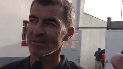 La réaction de Rui Almeida après SMCaen - Le Mans