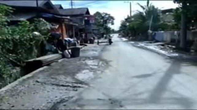 Banjir di Simeulue Aceh Berangsur Surut