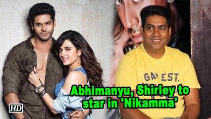 Abhimanyu Dassani, Shirley Setia to star in 'Nikamma'