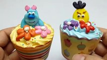Angry Birds & Monsters Birthday Cupcakes