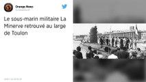 Le sous-marin La Minerve, disparu il y a 50 ans avec 52 hommes à bord, a été retrouvé au large de Toulon