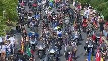 Miles de moteros de fiesta en Faro