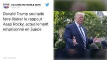 Donald Trump a appelé le Premier ministre suédois pour libérer le rappeur ASAP Rocky