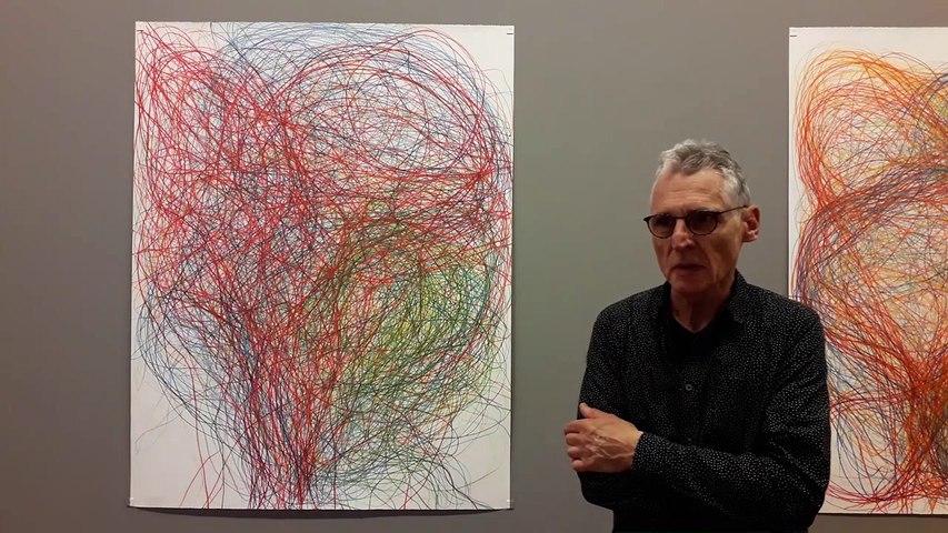 Gilgian Gelzer au musée des beaux-arts de Caen, 2019