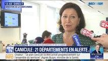 """Agnès Buzyn sur la canicule: """"Nous rappelons que les consignes de vigilance s'adressent aussi aux personnes bien portantes"""""""