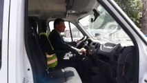 Tournai le bgtre P.O. Delannois chauffeur du bus du home