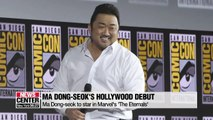 Ma Dong-seok confirmed to star in Marvel Studios Movie 'The Eternals'