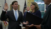 Former Lobbyist Mark Esper Confirmed And Sworn In As Pentagon Chief