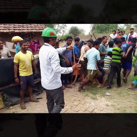 Snake rescue team Panchet dam