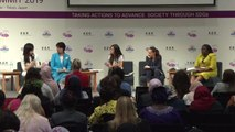 Female leaders discuss recycling and marine plastic at the Women Political Leaders Summit in Japan