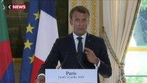 Emmanuel Macron: la ratification du Ceta «va dans le bon sens»