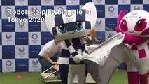 Tokyo adds robots to 2020 Olympic roster