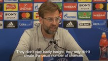 Liverpool will have to work like hell in second leg of Champions League tie, says Klopp
