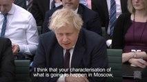 Boris Johnson -  Russia's World Cup is like Hitler's Olympics