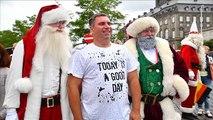 Santa Claus comes to Copenhagen in July