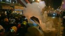 Nouveau week-end mouvementé à Hong Kong