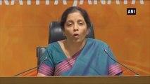 'Congress Questioned Existence Of Ram, Now Calls Itself Pandavas'  -  Nirmala Sitharaman