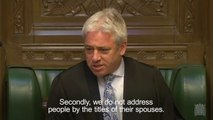Boris Johnson forced to apologise for 'sexist' remark in House of Commons