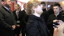 Ed Sheeran busks in Melbourne for secret performance