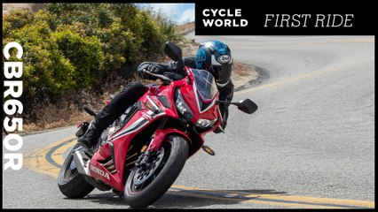 2019 Honda CBR650R First Ride