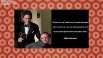 Stars react to Stephen Hawking's passing
