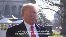 Donald Trump sacks Secretary of State Rex Tillerson