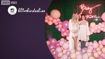 The Kardashians and Jenners go pink for Khloe's lavish baby shower