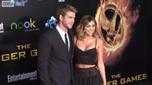 Miley Cyrus and Liam Hemsworth make rare red carpet appearance at Oscar Party