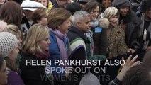 Michael Sheen and Sadiq Khan join March4Women rally