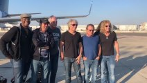 Rock superstars Bon Jovi arrived in Israel