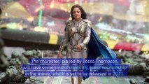 Tessa Thompson's Valkyrie to Be  Marvel's First Official LGBTQ Superhero
