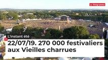 L'Instant été.  270 000 festivaliers aux Vieilles charrues