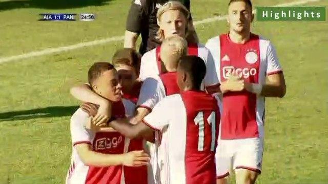 1-1 Donny van de Beek Goal - Ajax 1-1 Panathinaikos - 22.07.2019