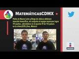 ¿Cuántas medallas ganó México en Olimpiada Matemáticas? | Noticias con Ciro Gómez Leyva