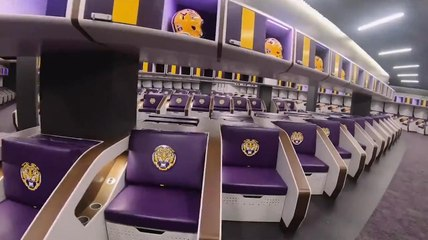 How Does LSU's New Locker Room Compare to College Football's Other Top Facilities?