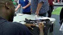 Wigan shirt launch