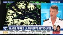 Le sous-marin La Minerve retrouvée 51 ans après