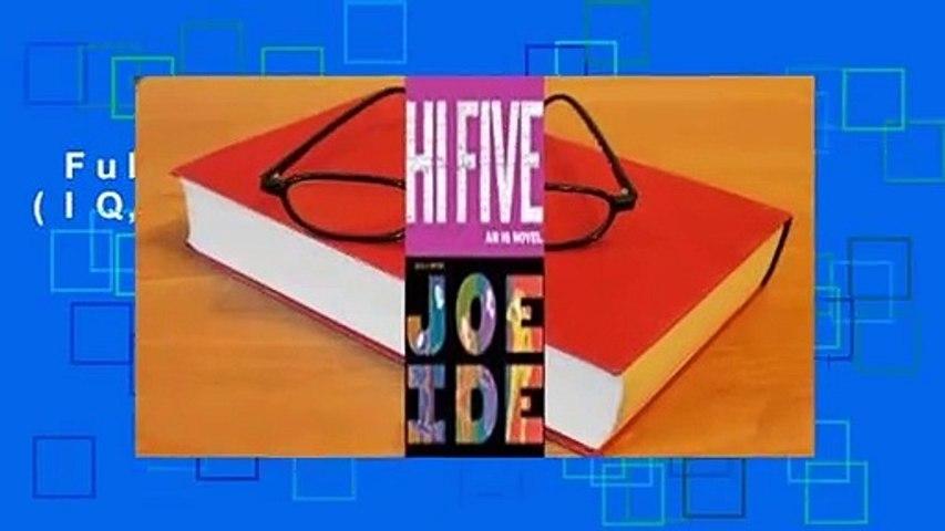 Full version  Hi Five (IQ, #4)  For Kindle
