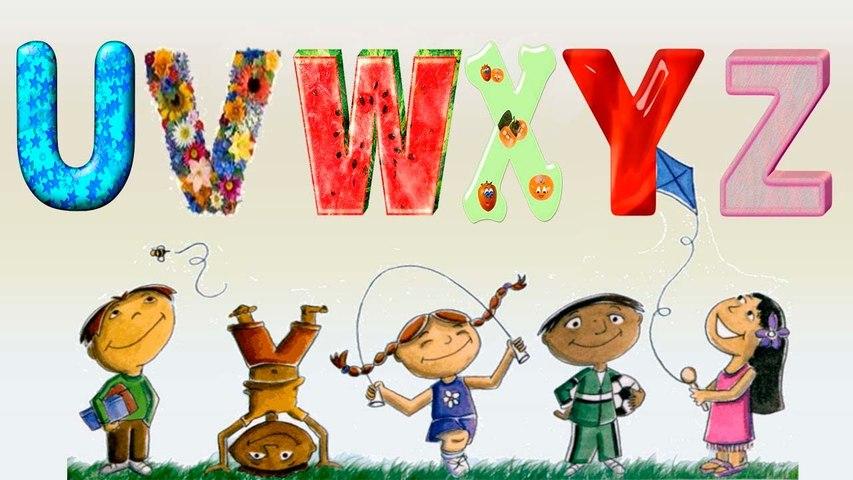 Alphabet U-Z, Preschool Activity, Educational Baby Games, Quick Learning, Kids Cartoon