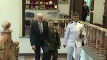 Savunma Bakanı Akar, ABD'nin Suriye Özel Temsilcisi Jeffrey'i Kabul Etti