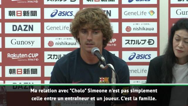 """La Liga - Griezmann : """"Simeone, c'est la famille"""""""