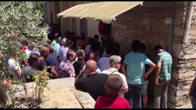 Marmara Gölünde boğulan 2 kişi toprağa verildi