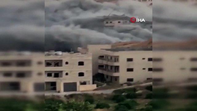- İsrail 9 Katlı Binayı Havaya Uçurdu