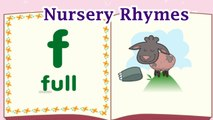 Nursery Rhymes, Songs for Children, Insert The Letters - Funny Games
