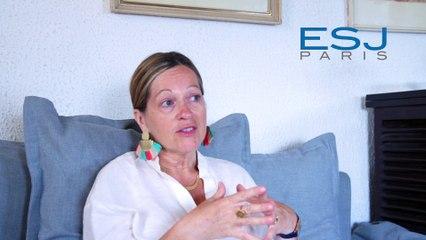 Enseignement à distance de l'ESJ Paris, avec Cécile Vrain