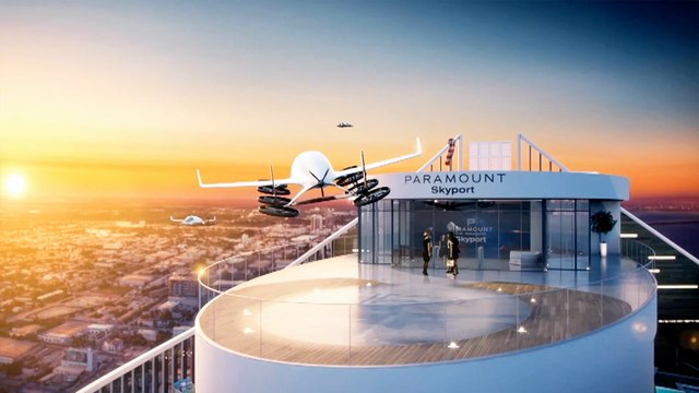 Miami's most luxurious tower is building a skyport for flying cars