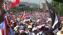 Protestos em Porto Rico