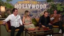 Leonardo DiCaprio, Brad Pitt, Margot Robbie and Quentin Tarantino Talk Making of Once Upon a Time in Hollywood