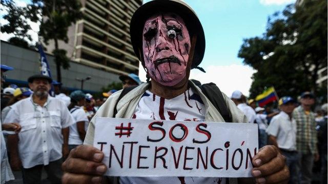 Venezuelan Government Blames Latest Blackout On 'Electromagnetic Attack'