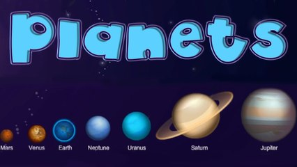 Explore the Planets in Our Solar System, Interesting Facts, Educational Videos - Lessons for Kids